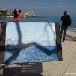 Blick auf Antibes mit Claude Monet Gemälde
