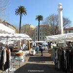 Kleidermarkt in Antibes