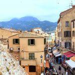 Blick auf die Altstadt Calvi