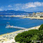 Cannes der Strand - Croisette