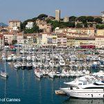 Cannes mit Yachthafen und Altstadt
