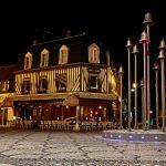 Deauville bei Nacht
