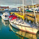 Hafen in Deauville