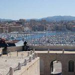 Marseille Blick auf den alten Hafen