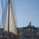 Alter Hafen Marseille - Bilck auf Notre-Dame-de-la-Garde