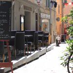 kleine Gasse in Saint-Tropez