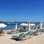 Strand bei Saint-Tropez