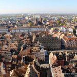 Blick über Straßburg