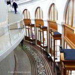Blick von der Treppe Bourse de Commerce