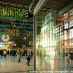 Centre Pompidou - Erdgeschoss -Eingangsbereich