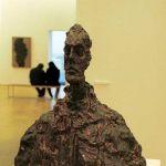 Centre Pompidou - Skulptur von Giacometti