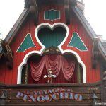 Eingang zu den Reisen von Pinocchio