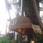Aufzug zum Restaurant Jules Verne