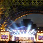 Konzert 14.Juli 2014 unter dem Eiffelturm