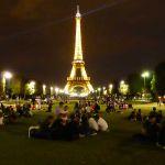 Picknick am Eiffelturm