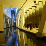 Ausstellung Spiegel Untergeschoss Fondation Louis Vuitton