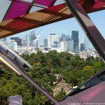 Blick auf La Defense - Terrasse Fondation Louis Vuitton