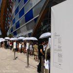 Fondation Louis Vuitton - Eingang Warteschlange
