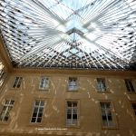 Glasdach im zweiten Innenhof Hôtel de la Marine