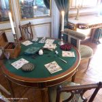 Tisch im Hôtel de la Marine