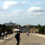 Blick von Esplanade Invalidendom auf Paris