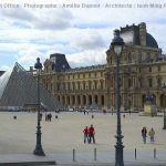 Der Louvre mit Pyramide