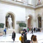 Lichthof im Louvre