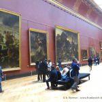 Louvre - Monumentale  Gemälde