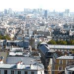 Blick über Paris Montmartre