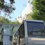 Funiculaire (Drahtseilbahn) Montmartre Paris