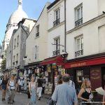 kleine Gasse auf dem Montmartre