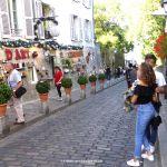 Strasse Nordseite Montmartre