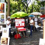 Maler auf dem Place du Tertre Montmartre
