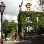 Montmartre Strasse Nordseite