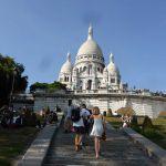 Sacre Coeur Hang aufstieg Treppen