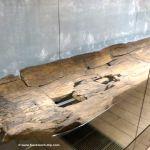 Einbaum-Kanu etwa um 6000 bis 2200 v. Chr. - Musée Carnavalet