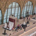 Zwischengeschoss Skulpturen Musée d'Orsay