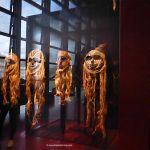 Masken im Museum Quai Brandy