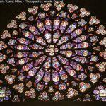 Kirchenfester von Notre Dame