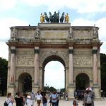 Kleiner Triumphbogen Tuilerien Paris