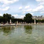 Kleines Wasserbecken Tuilerien Paris