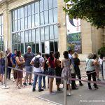 Warteschlange Orangerie Paris