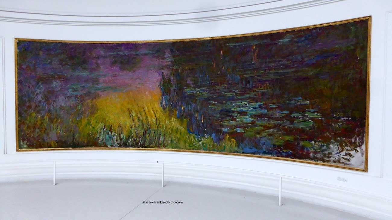 Monet Seerosen Gemälde - Orangerie Paris