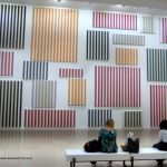 Daniel Buren - Murs de peintures - Palais de Tokyo