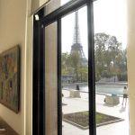 Blick auf den Eiffelturm vom Palais de Tokyo