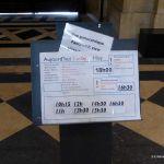 Hinweisstafel Aufstieg Panthéon Paris