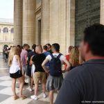 Schlange Eingang Panthéon Paris