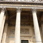 Inschrift Fassade Panthéon Paris