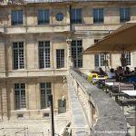 Café auf dem Dach des Picasso Museums