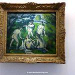 Gemälde Cézanne 5 Badende im Picasso Museum